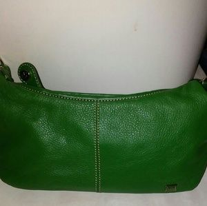 Green Leather Purse  The Sak